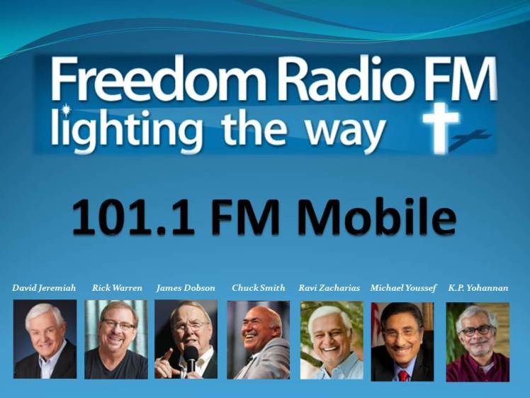 Freedom Radio FM 101.1 FM Mobile 02